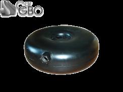 Баллон пропановый ATIKER  тороидальный наружный 38 л (600х180)
