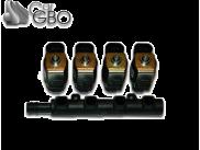 Газовые форсунки Rail IG5-4 цил.