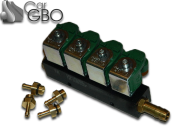 Газовые форсунки Valtek 4 цил. + жиклеры калибровочные