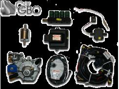 Комплект ГБО Stag GoFast (редуктор Alaska, форсунки Valtek, фильтр)