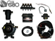 Комплект ГБО Stag Qbox Basic (редуктор Gurtner, форсунки Hanna, фильтр)