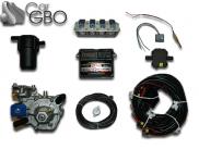 Комплект ГБО Stag Qbox Basic (редуктор Nordic, форсунки Stag W-02, фильтр)