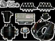 Комплект ГБО Stag-300 8цил. (редуктор KME, форсунки Hana, фильтр)