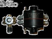 Газовый пропановый редуктор KME TWIN