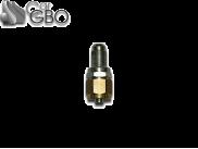 Штуцер для термопластиковой трубки FARO D8 с резьбой