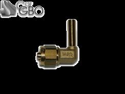 Штуцер для термопластиковой трубки FARO D8 угловой