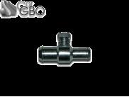 Дозатор газа 16х10 алюминий