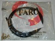 Трубка газовая ПВХ D8 Faro (Италия) + 2 штуцера
